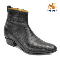 Smooth Nile Crocodile Ankle, $3,500, Ankle Boots, Genuine Nile Crocodile, Available in 15 Different Colors