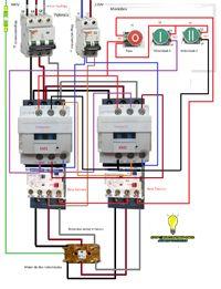 Esquemas eléctricos: maniobra motor dos velocidades trifasico