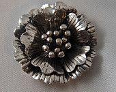 1 pcs Tibetan Silver Flower Pendant