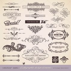 Calligraphic Design Elements and Page Decoration 2