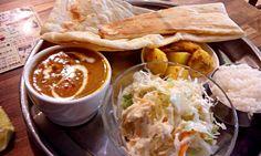 "Chicken curry lunch.  New open india restaurant.  (""Little ganeza"" in Tokyo)"