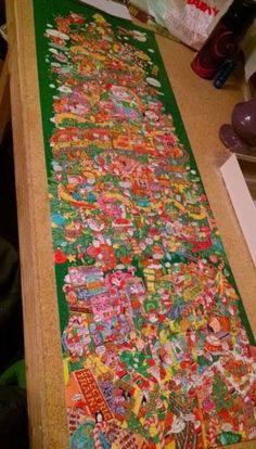 Springbok-OH-CHRISTMAS-TREE-ROBERT-B-MARTIN-PANORAMIC-PUZZLE-700-100-Complete