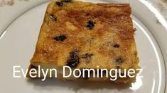 Puerto Rican Bread Pudding  easy to make