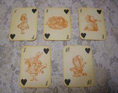 Alice in Wonderland Gift Tag Mad Hatter Tea by FyreflyHollow