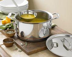 I love the All-Clad Copper Core Soup Pot with Ladle, 4-Qt. on Williams-Sonoma.com