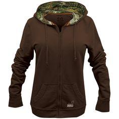 Realtree Girl Full Zip Hooded Jacket