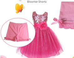 Modesty Shorts Girls Bloomer Shorts by lilgirlsessentials on Etsy