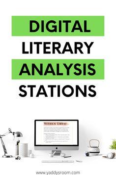 Ap Literature, Literature Circles, Reading Resources, Reading Strategies, Teaching Secondary, Language Arts, English Language, High School English, Ela Classroom