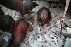 World Press Photo 2011. TREMBLEMENT DE TERRE DE HAITI .