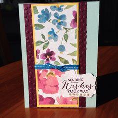 One sheet wonder card#1