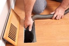 Homeowner maintenance tip: Vacuum all of your air supply and air return registers to remove dust and lint once a month. This will give you greater efficiency and keep your air cleaner!