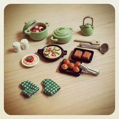 cook it! #miniature #miniatures #sylvanianfamilies #calico… | Flickr