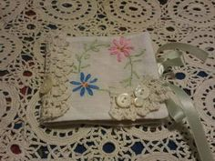Needle book Vintage embroidery Table linen Do...