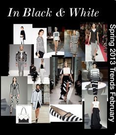 """""""In Black & White (February-March)"""" by greenclothing on Polyvore"""