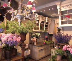 I would love a florist shop like this