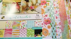 Creatively Savvy: Tropical gorgeousness! DCWV Watercolor Stack