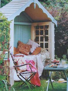Shabby-Chic Stil im Garten