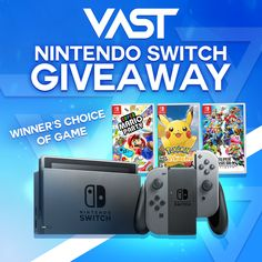 🎉 Nintendo Switch Giveaway How To Ente Choices Game, Win Free Stuff, Super Mario Party, Publisher Clearing House, Christmas Entertaining, Super Smash Bros, Nintendo Switch, Competition, Pokemon
