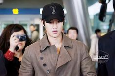 Kim Hyun Joong 김현중 Incheon Airport Photos from Fukuoka by SHANE of MAGIC0606