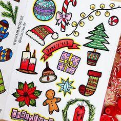 My DOODLES Bullet Journal Doodles Handlettering Sketchnotes Tutoria - Weihnachten December Bullet Journal, Bullet Journal Cover Page, Bullet Journal Layout, Bullet Journal Ideas Pages, Bullet Journal Inspiration, Christmas Doodles, Christmas Drawing, Christmas Art, Christmas Journal