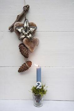 tricia guild style, diy:gingko gerahmt & mmh:schokosternbäume mit fleur de sel... | einfallsReich