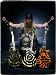 Zakk Wylde, the biggest influence on how i play guitar