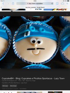 Sportacus cupcakes