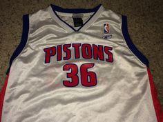 c7213c43eb0 Sale Vintage Reebok DETROIT PISTONS Basketball by casualisme Pistons  Basketball