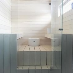 Nordic Home (@mynordicsimplicity) • Instagram-kuvat ja -videot Finnish Sauna, Steam Sauna, Nordic Home, Steam Room, Home Spa, Apartment Therapy, New Homes, Bathroom Ideas, House