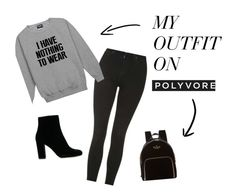 """""""Nothing To Wear. . ."""" by theease on Polyvore featuring Topshop and Kate Spade"""
