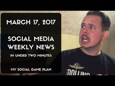 Social Media Weekly News In Under Two Minutes Social Games, Episode 3, Locker, March, Social Media, How To Plan, News, Youtube, Room