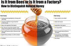Honey is often bought from grocery stores since it is said that they sell pure organic honey. Did you know that there is real honey and fake honey? It will be very difficult to tell Fake Honey, Buy Honey, Salud Natural, Natural Honey, Just In Case, Just For You, Rose Tea, Home Recipes, Organic Recipes