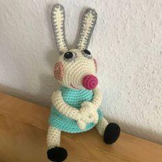 Peppa Wutz Freundin Luisa Löffel Kaninchen Häkelanleitung