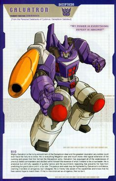 Transformer of the Day: Galvatron (Part 1)