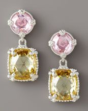 Judith Ripka Double Ambrosia Earrings