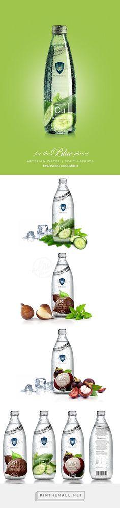 Blue Republic flavored water range by Batsirai Madzonga. Pin curated by…
