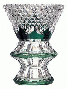 Val Saint-Lambert vase 'Catane' CG1010 - Charles Graffart - Catalogue 1950 - H 23 cm.