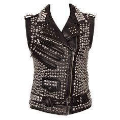 Killstar Overload Vegan  Vest Jacket (Black)