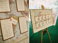Classic Country Marquee Wedding Map Table Plan http://www.lawsonphotography.co.uk/