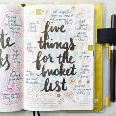 Day 24 of #listersgottalist: five things for the bucket list added a few more IG:@pepperandtwine