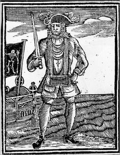 Black Bart  Not your archetypal pirate, Black Bart, a.k.a Bartholomew Roberts, reportedly seized over 400 ships, yet preferred tea to rum. Roberts was also a fan of fine jewelry and clothing and actually encouraged prayer.