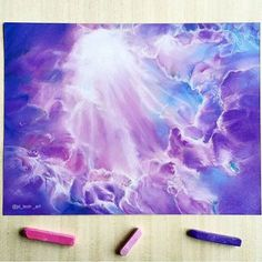 Heavenly pastel drawings by @jd_tech_art .  Shared by @kitslam