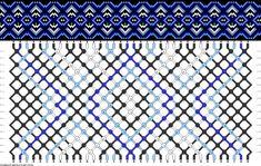 Muster # 55142, Streicher: 36 Zeilen: 16 Farben: 4