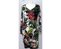 Only a size 12 left in this beautiful black white and red floral pattern dress! Its not difficult to see why this dress has sold out fast being both pretty and affordable at just £70! Shop yours now at www.middletonwood.co.uk