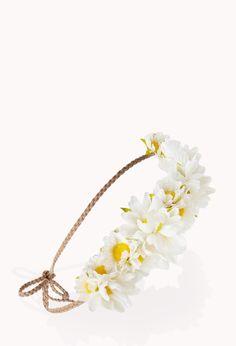 Boho Babe Flower Crown | FOREVER21 #Accessories #FlowerCrown #Festival