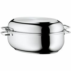 WMF Stainless Steel Deep Oval Roasting Pan, 16-1/4-Inch >>> Unbelievable  item right here! : Roasting Pans