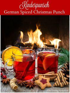 Kinderpunsch (German Spiced Christmas Punch). www.daringgourmet.com: http://www.www.www.daringgourmet.com2016/12/11/kinderpunsch-german-non-alcoholic-spiced-punch/?utm_content=bufferb11d0&utm_medium=social&utm_source=pinterest.com&utm_campaign=buffer
