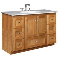 "Found it at Wayfair - Simplicity 49"" Single Bathroom Vanity Set"