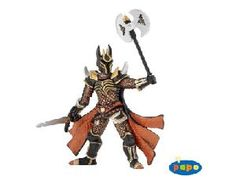 The Knight with Triple Battle Axe from the Papo Fantasy collection - Discounts on all Papo Toys at Wonderland Models. One of our favourite models in the Papo Fantasy figure range is the Papo Knight with Triple Battle Axe. Papo manufacture wonderful, amazingly accurate models of all sorts of toy figures, particularly warriors and mutants including this model of the Knight with Triple Battle Axe which can be complemented by any of the items in the Fantasy World and Fantasy Castle ranges.