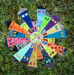 Dresden Neighborhood Block Tutorial: 52 Twisted Tradition Block Quilt Along